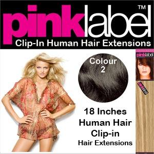 """18"""" Clip in Hair Extensions Colour 2"""