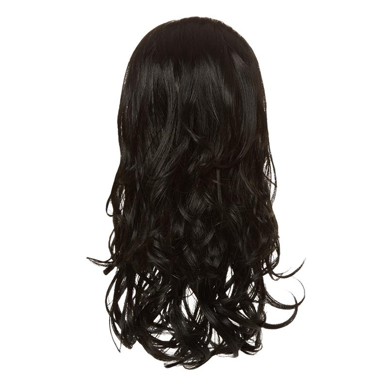 Hairaisers Live it Loud Curly Colour 1 Hair Piece