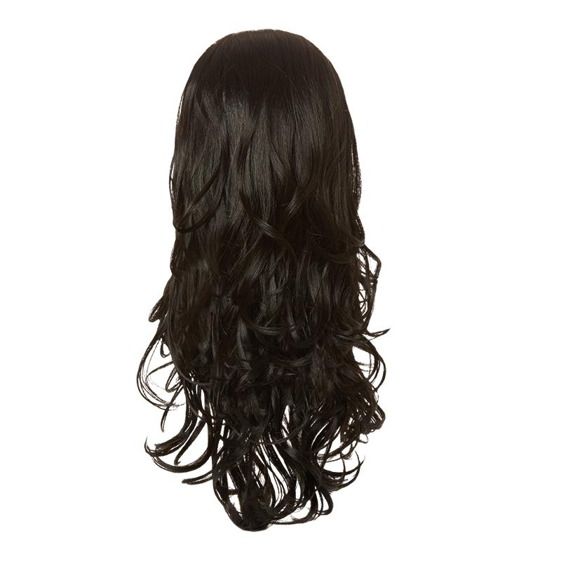 Hairaisers Live it Loud Curly Colour 1B Hair Piece