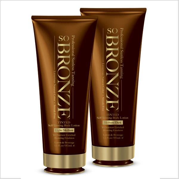 So Bronze Body Tanning Lotion