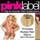 Pink Label Clip in Hair Extensions Colour P24/SB