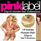 Pink Label Clip in Hair Extensions PB